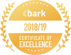 Bark badge - certificate of excellence